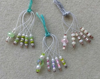 Spring Beaded Stitch Markers