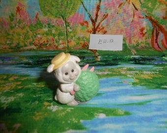 1992 Hallmark  Miniatures- Easter Lamb Figurine - EH-12