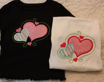 Hearts of love for your little one  Hearts for girl  Baby girl