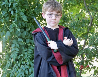 Wizard Inspired House Robe Costume - Made to Order - Child Size