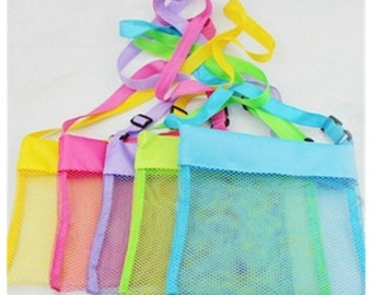 Kids mesh beach tote. Great to personalize