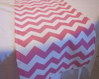 Pink Chevron Table Runner, Wedding, Bridal Shower, Baby Shower, Graduation, Birthday