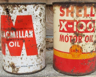 Vintage Motor Oil Can
