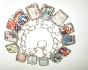 Teachers/Vintage Teachers Altered Art Bracelet