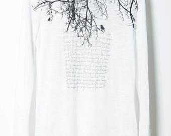 Tree Branch Birds Long Sleeve