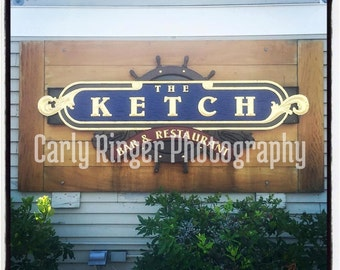 LBI: Ketch Tile Coaster