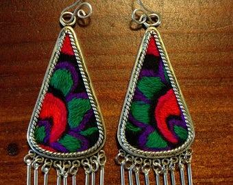 Handmade bohemian earrings