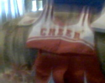 build a bear cheerleader outfit