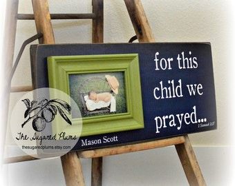 Adoption gifts adoption signs gotcha day gift personalized baby picture frame personalized baby gift adoption gift lime green navy blue baby gift shower gift 8x20 the sugared plums negle Choice Image