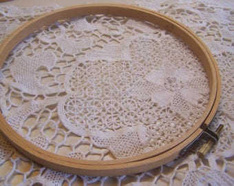 """Size 7"""" Wood Embroidery Hoop"""