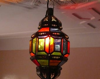 Oriental pendant lamp from Morocco 1001 Night