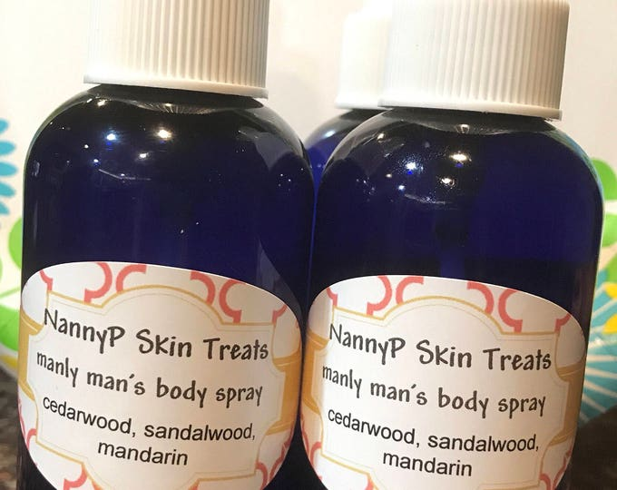 Men's Organic Body Spray