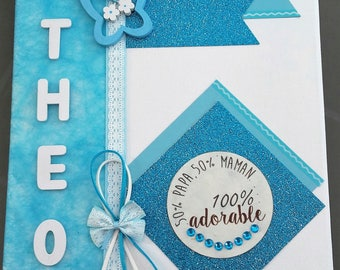 frame personalized baby, child, custom table