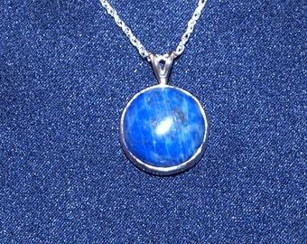 Lapis Lazuli pendant High Shine Contemparary Modren High Gloss