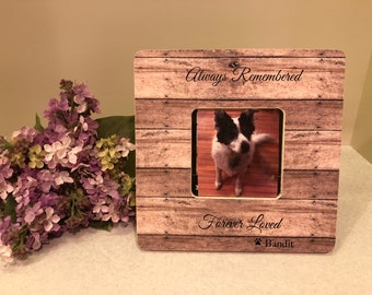 ON SALE Pet Loss Sympathy Custom Frame