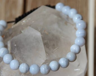 shamballa bracelet chalcedony beads
