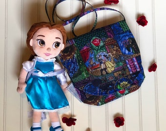 Beauty and the Beast crossbody bag
