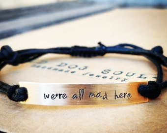 Custom Hand Stamped Bracelet, friendship bracelet, Custom Name Jewelry Quote Bracelet Gift Idea bulk stamped bracelets, personalized jewelry