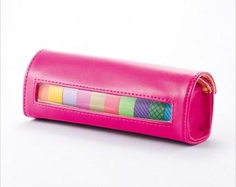 Pink Masking Tape Holder • Masté Washi Tape Dispenser Storage Box Pink (MST-PO01-PK)