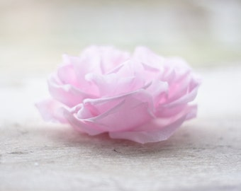 793_Flower, Blush flower, Big hair flowers, Flowers for hair, Retro hair accessories, Pink flower, Fabric flower hair, Flower clip Hair rose