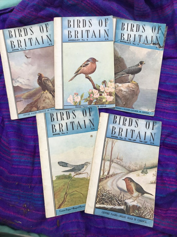 Birds if Britian  paperback booklet- issues 1-5