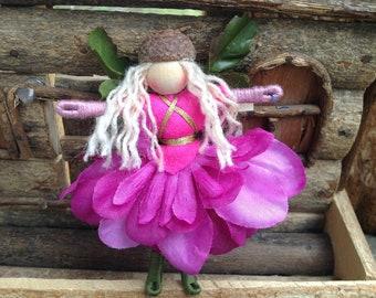 Pink Petal Flower Fairy