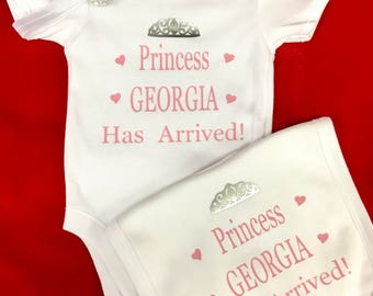 Mummy & Daddys little princess Auntie godmother nanny Prince for boys princess any name
