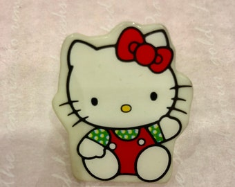 vintage sanrio paper clip Hello Kitty 1992-made in Japan