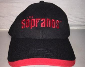 Vintage The Sopranos HBO adjustable dad hat cap rare 90s TV tony mob mafia drama gangster