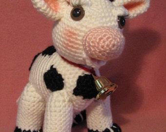 Molly Moo The Amigurumi Cow