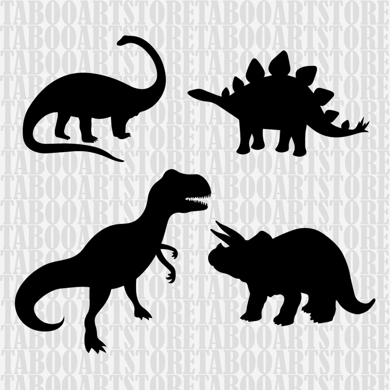 Download Dinosaur Cut File, T-rex SVG , Silhouette Cut File ...