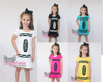 Crayon Costume, 6months-6x, Color costume , Cute costume, Baby costume, toddler costume, Crayola costume, color , school costume.