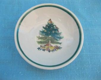 Vintage plate tree / Vintage Plate Fir tree