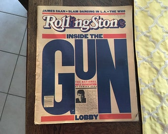 Rolling Stone Magazine, Inside the Gun Lobby Issue No. 343, May 14th, 1981