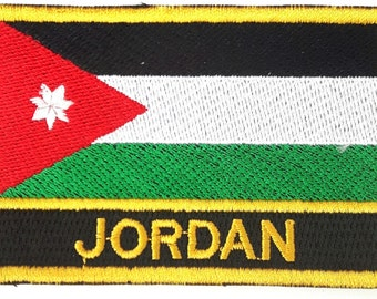 Jordan Embroidered Sew or Iron on Patch Badge