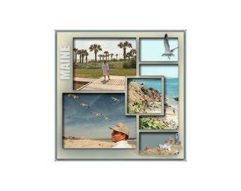 12 x 12 Digital Scrapbook Template (79)