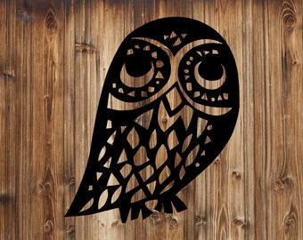 Owl Decal, Owl Car Decal, Mug or Bottle Owl Decal, Owl Laptop Decal