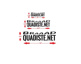 Quadiste.NET promo sticker