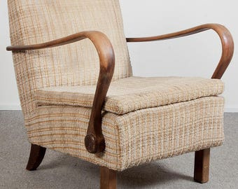 Czech vintage armchair from the 50's.