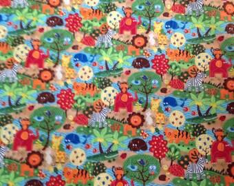 Jungle babies quilt