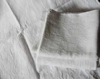 French Linen Serviettes (Napkins)