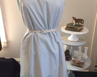 A Whale Of A Dress! The Vested Gentress 1960's sun dress