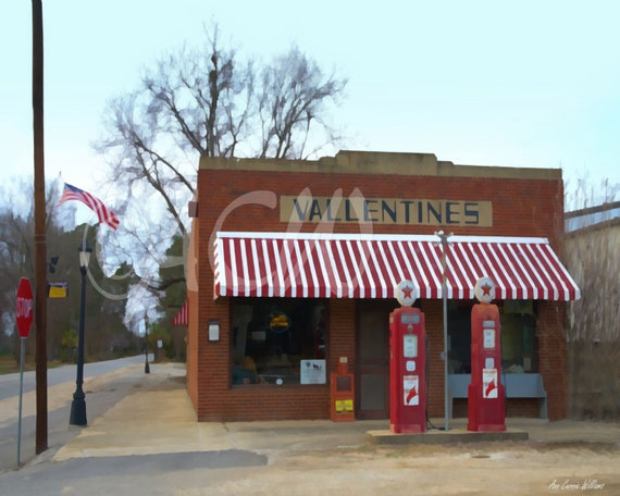 Vallentine's Country Store in Cope, South Carolina (canvas)