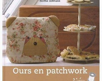 Book bear patchwork sewing
