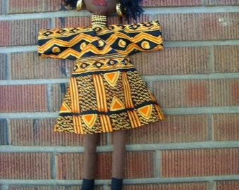 Ethnic Doll Wall Art