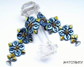 English pattern for the Marrakesh Bracelet