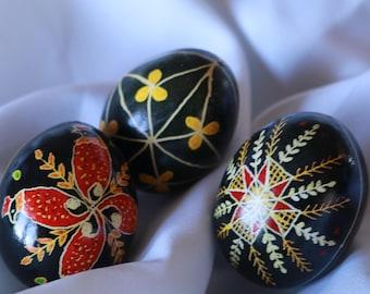 5- Beautifully Hand Made Ukrainian Easter Eggs