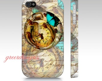 Steampunk Butterfly Phone Case iPhone cover case, 4, 4s, 5, 5s, 6  Samsung Galaxy S3, Samsung Galaxy S4, Galaxy s5