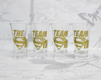 Team Stag - Stag Do Shot Glasses  - Gift Boxed - Stag Party Stag Night Stag Weekend Stag Do Bachelor Party Party Shots Party Drinks