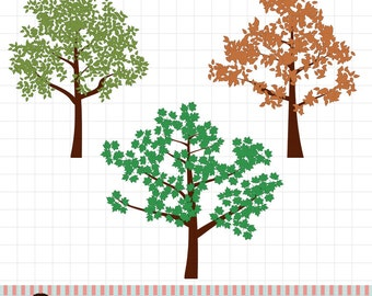 Tree Brushes for Photoshop and Elements - Commercial and Personal Usage